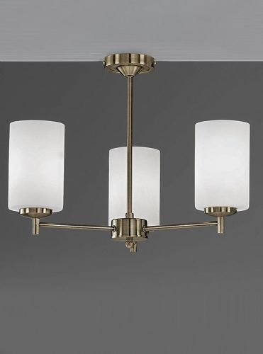 Franklite FL2272/3 Bronze Ceiling Light